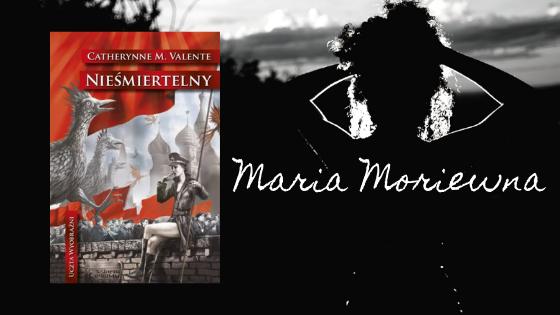 Grafika z kobiecą sylwetką i okładką książki