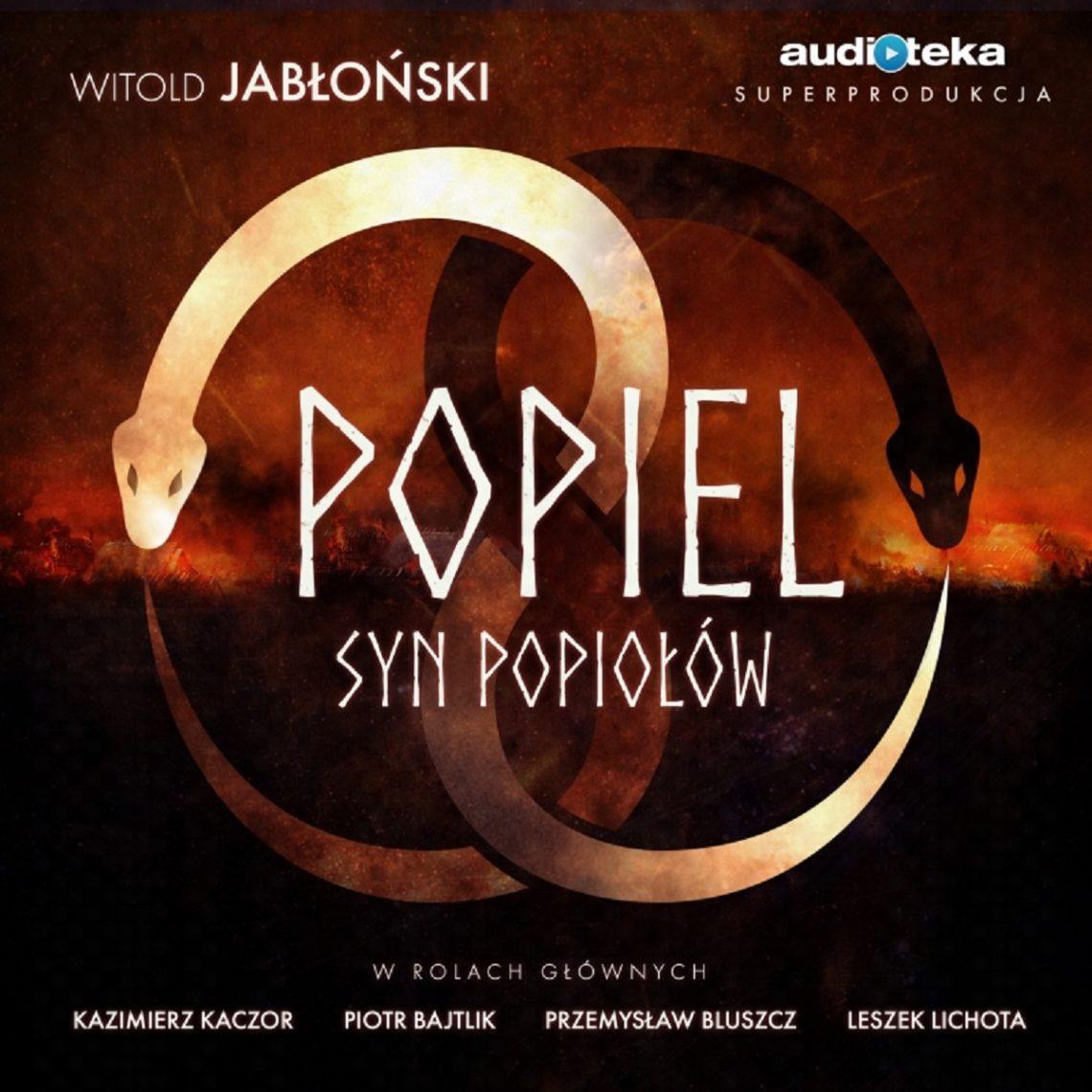 """Okładka audiobooka """"Popiel. Syn popiołów"""""""